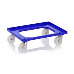 Wózek plastikowy pod skrzynki