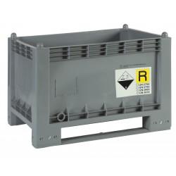 Skrzyniopaleta na zużyte akumulatory 297 litrów