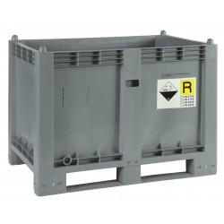 Skrzyniopaleta na zużyte baterie i akumulatory
