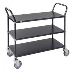 wózek stalowy półkowy