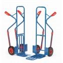 wózki dwukołowe stalowe